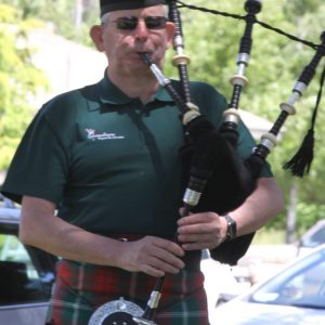 Graham Durant-Law: The City of Queanbeyan Pipes and Drums