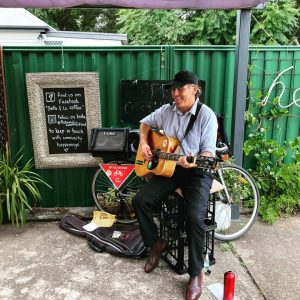 Bicycle Busker